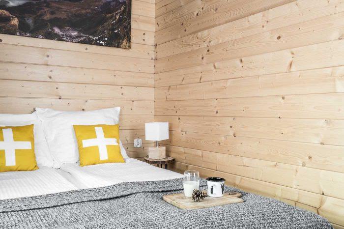 Duży i komfortowy apartament z osobną sypialnią w Zakopanem Sypialnia 1